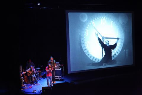 Damo Suzuki, frontman of the legendary band Can, soundtracked a special screening of Metropolis